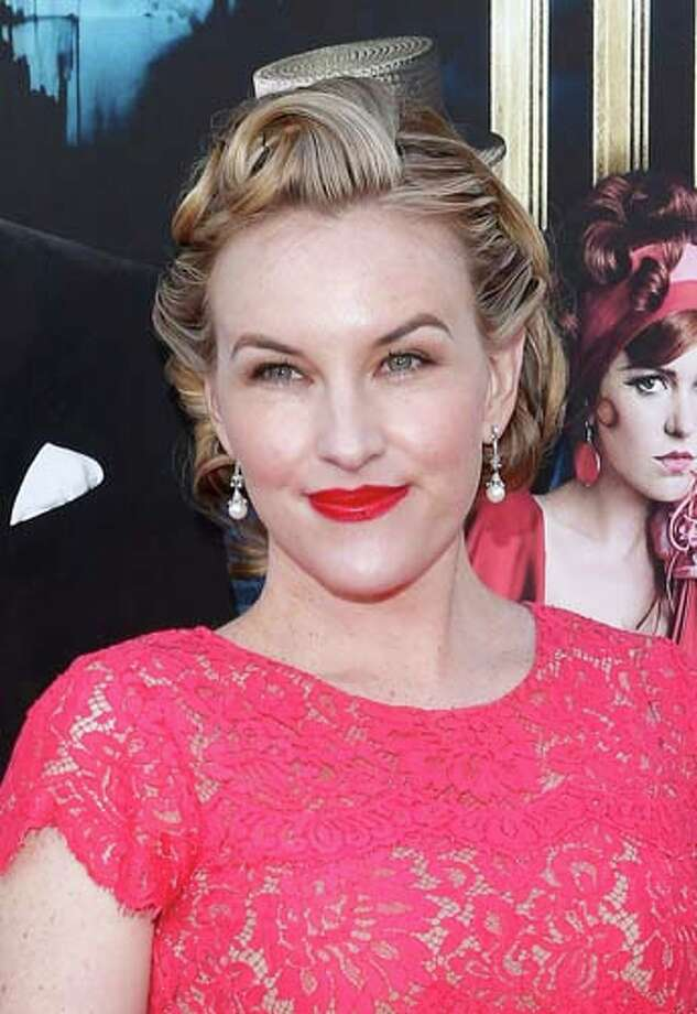Kate Mulvany   Beautiful red color on the lips. Beautiful pink dress. Choose one or the other though. Photo: Jemal Countess, Getty Images / 2013 Getty Images