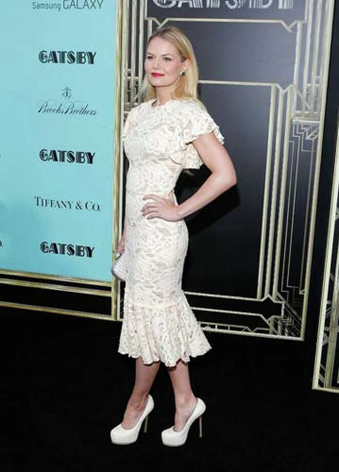Jennifer Morrison   The most beautiful doily we've seen. Photo: Jemal Countess, Getty Images / 2013 Getty Images