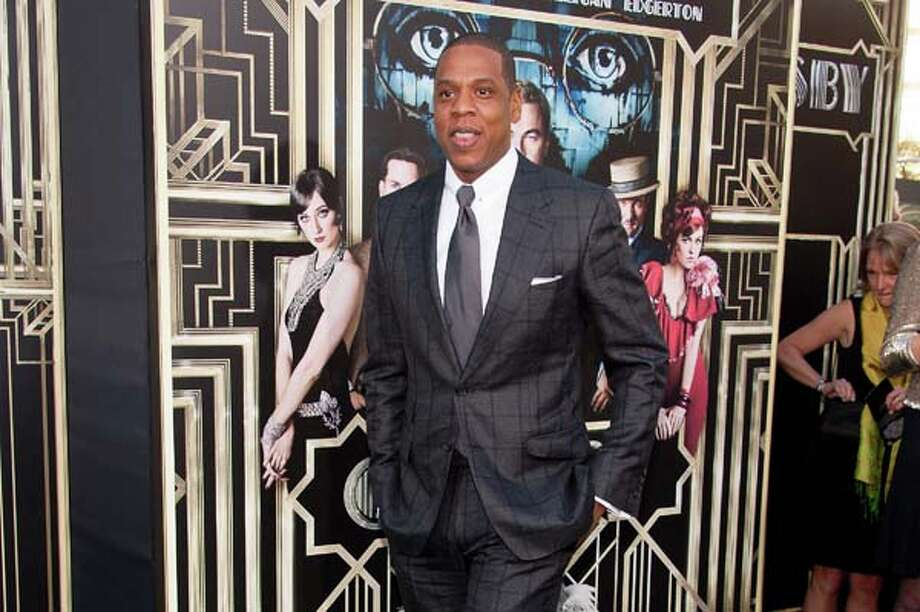 Jay-Z   On the fence about that checkered suit. Photo: D Dipasupil, FilmMagic / 2013 D Dipasupil