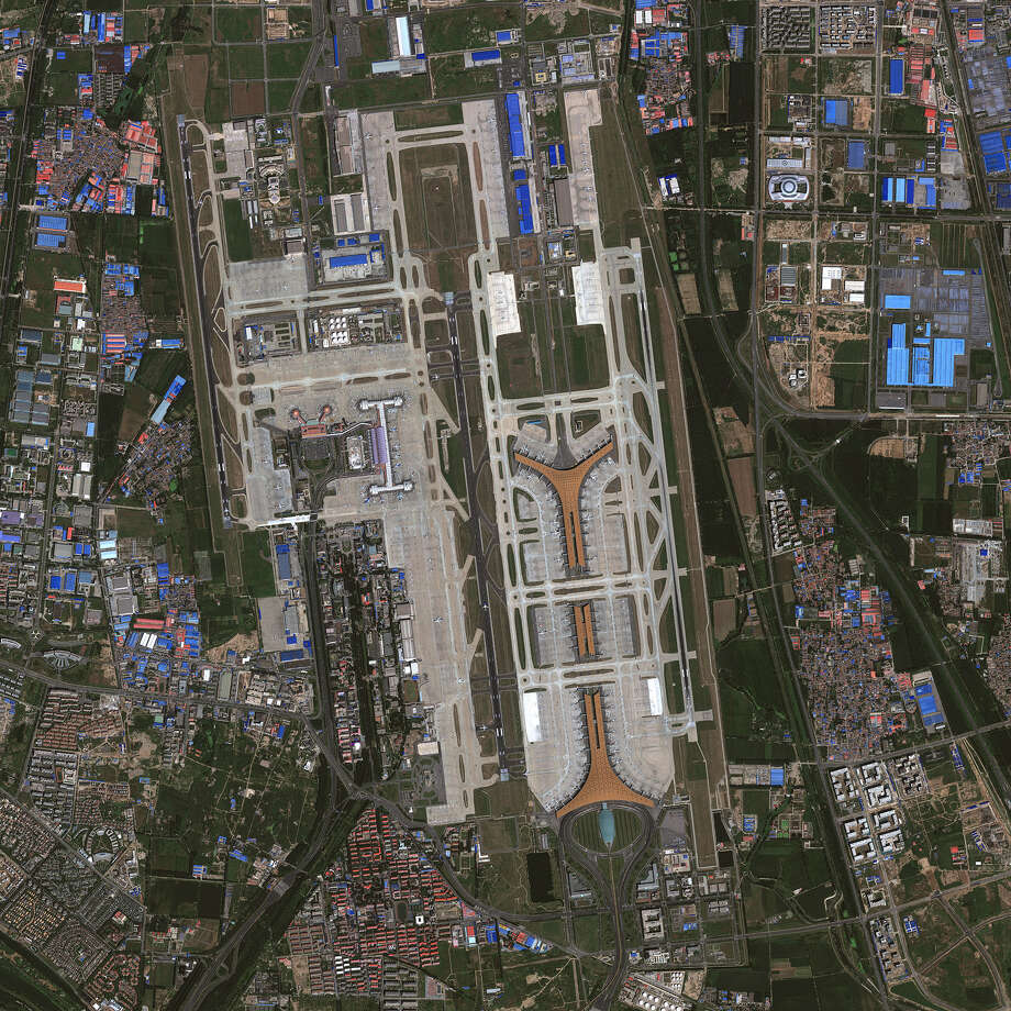 No. 5 - Beijing Capital International Airport Photo: DigitalGlobe, Multiple / 2013 DigitalGlobe