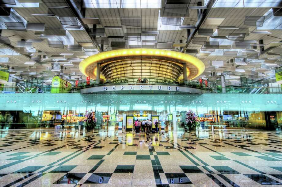 The Changi Airport in Singapore is the No. 1 airport in the world according to the Geneva-based Skytrax World Airport Awards. Click through to see some of the other top 100 airports ranked by Skytrax.  Photo: Artie Photography (Artie Ng), Multiple / Flickr Select
