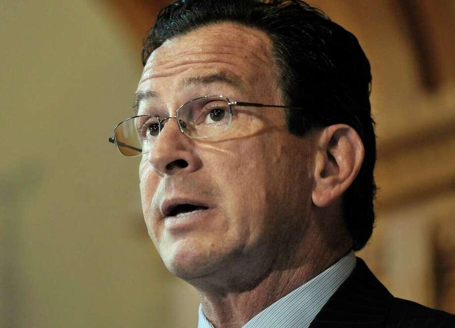 Connecticut Gov. Dannel P. Malloy Photo: Jessica Hill, Associated Press / AP2011