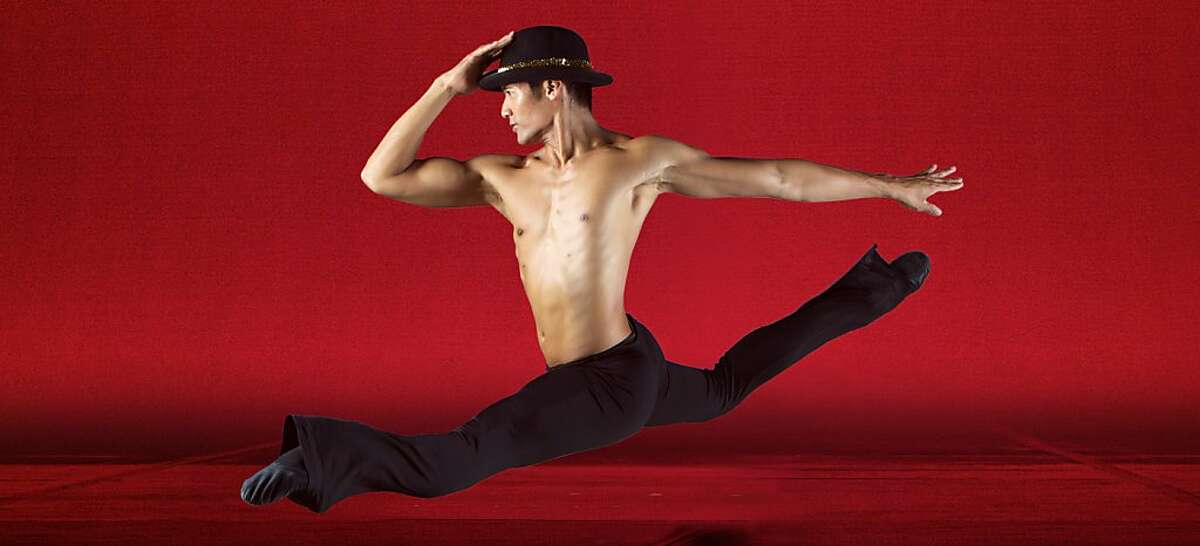 Smuin Ballet dancer Jonathan Mangosing in the