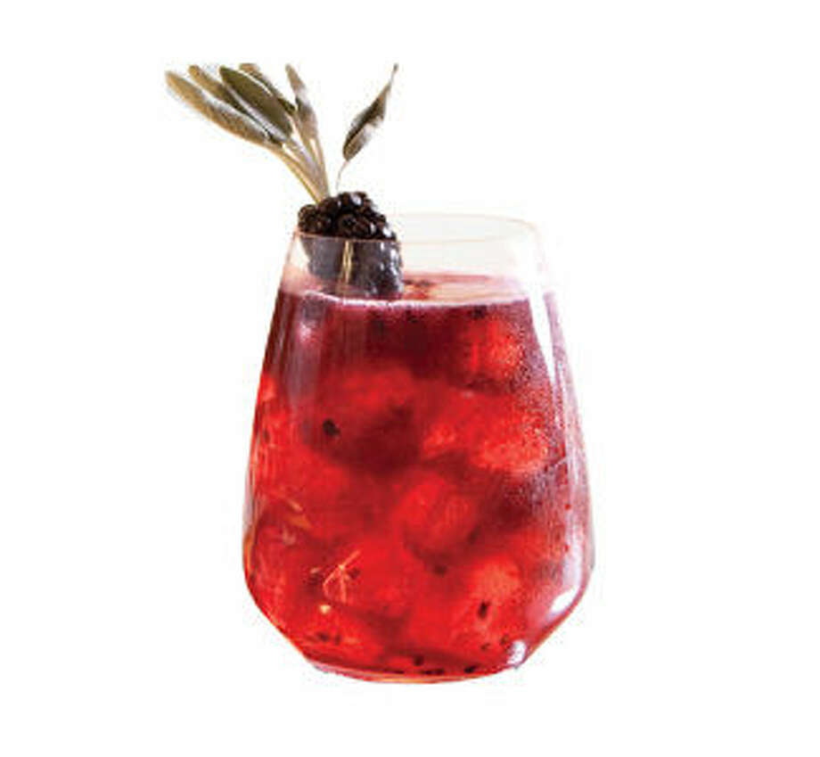 The Carpe Día cocktail features blackberries and sage. Photo: Courtesy Milagro Tequila