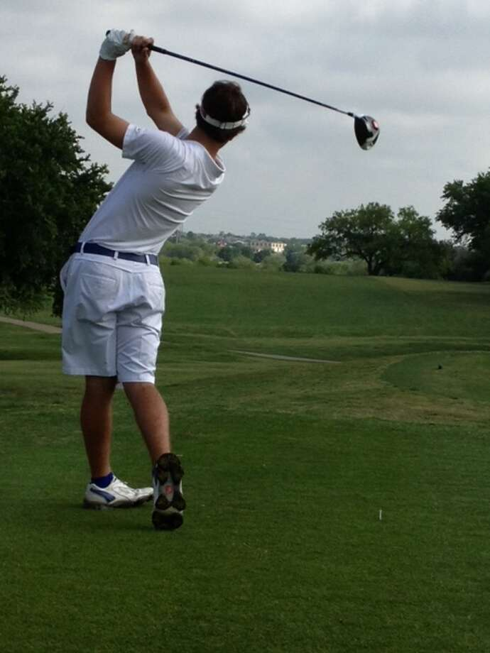 Kelly golfer Corbin Cormier placed fifth at the 2013. TAPPS 5A state tournament on Tuesday in Temple. Photo: Courtesy Of Don Keen