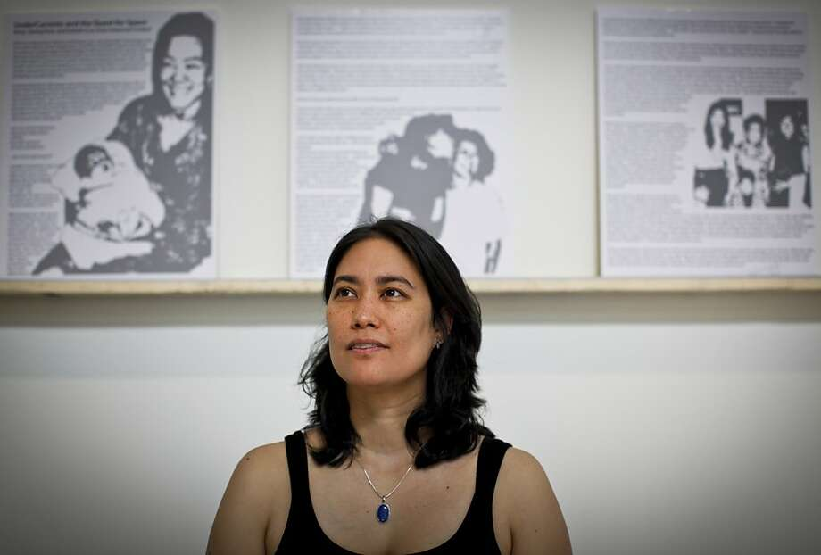 Leslie Zeitler's  winning essay brings Asian American turmoil to light. Photo: Russell Yip, The Chronicle