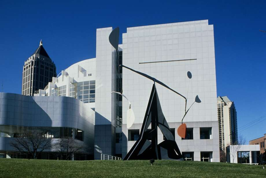 8. Atlanta, home of the High Museum of Art, designed by Renzo Piano.