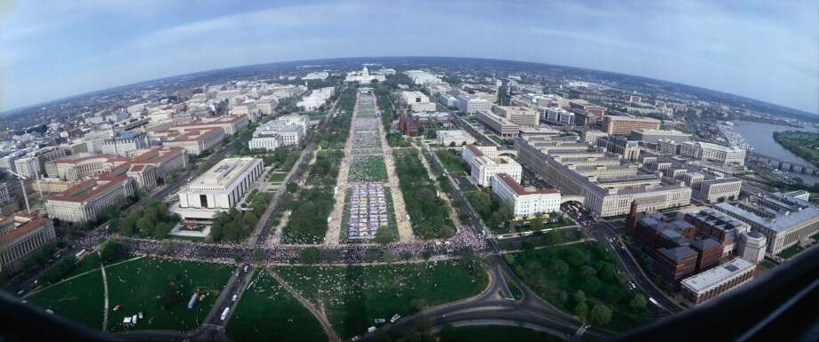6. Washington, D.C., where the National Mall features tons of green space and is lined with museums.
