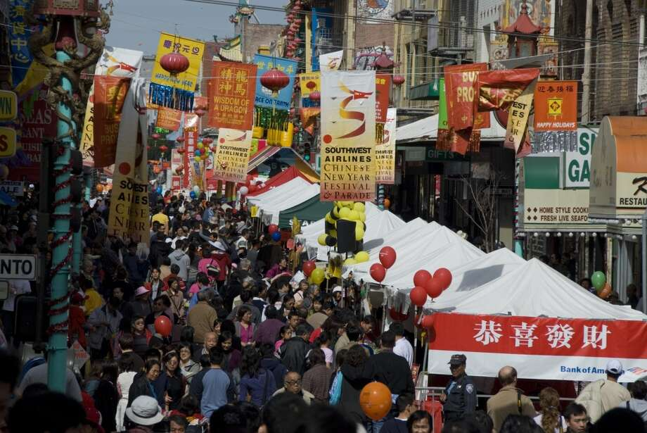 3. San Francisco, home to one of the world's best Chinatowns.