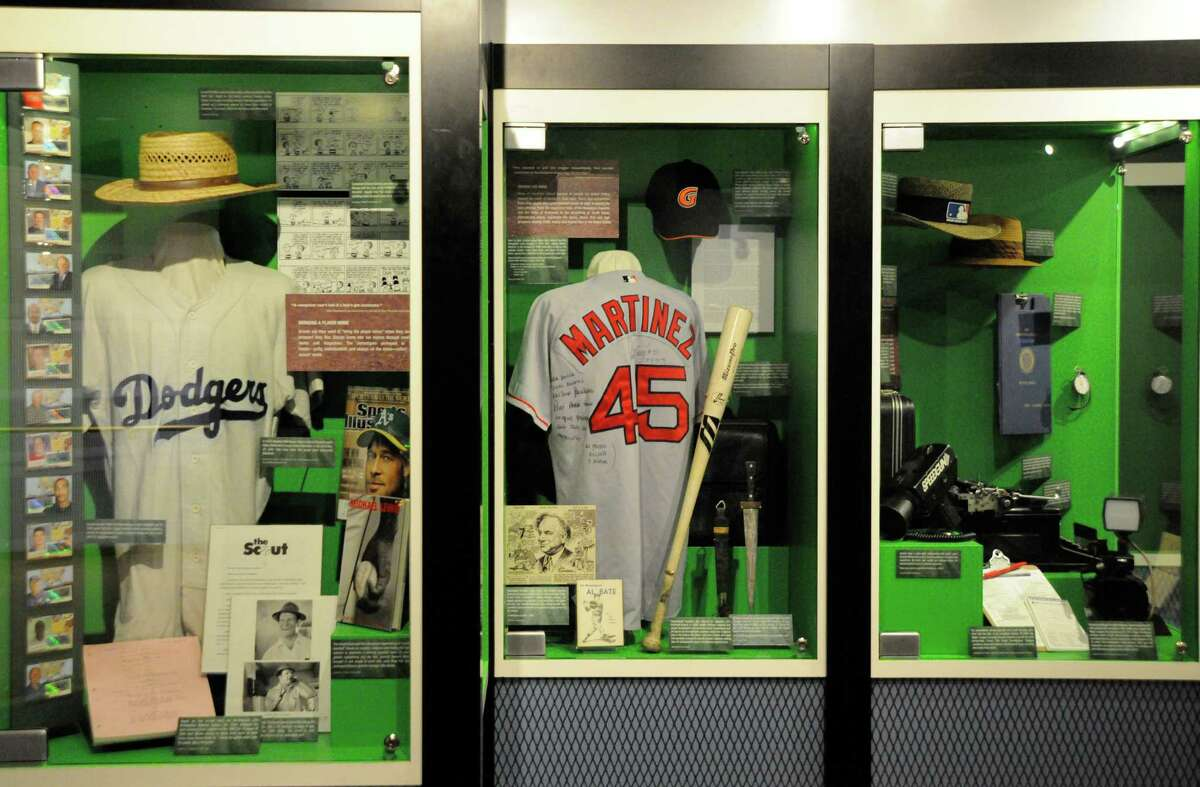 """""""Diamond Mines"""" exhibit, opening Saturday, May 4, 2013, at the National Baseball Hall of Fame and Museum in Cooperstown. Please credit Milo Stewart Jr./National Baseball Hall of Fame Library."""