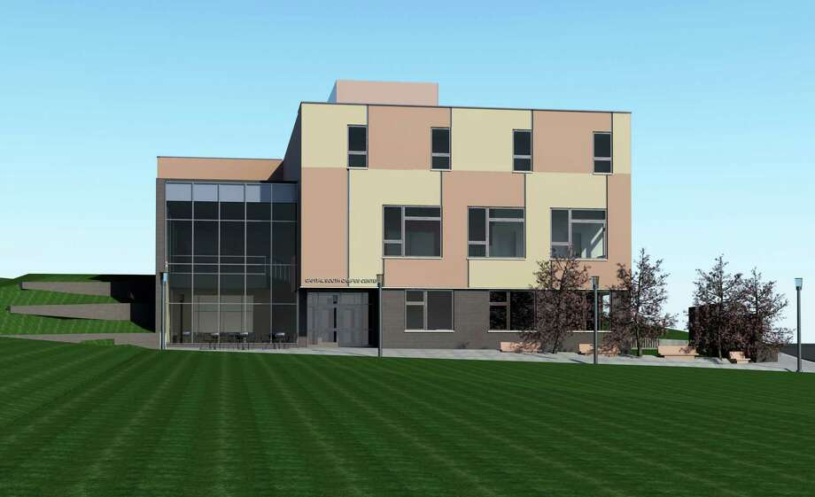 Rendering of the new headquarters for the Albany Promise run by Trinity Institution.
