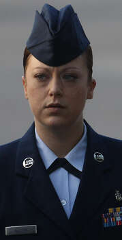 Staff Sgt. Emily Allen got 30 days' hard labor and was busted to airman first class.