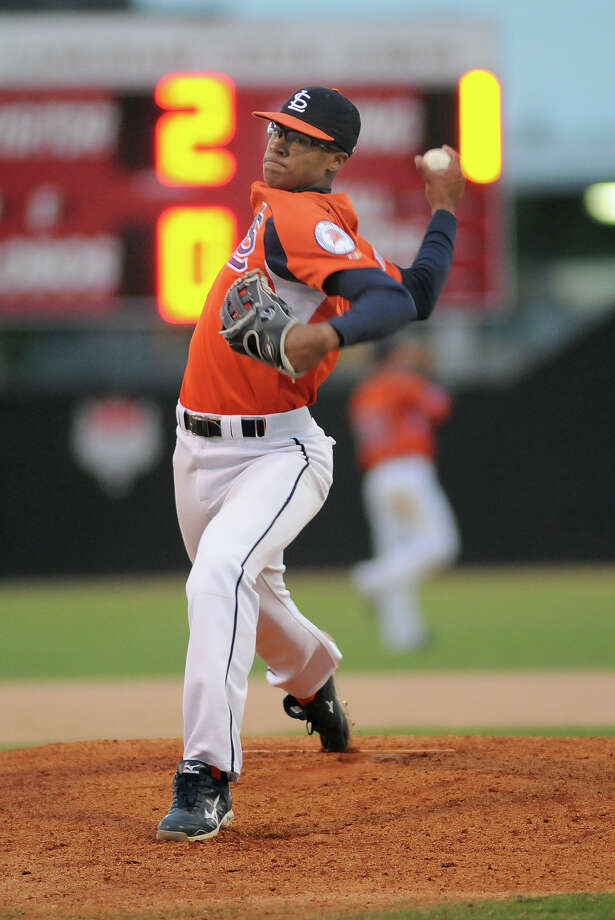 Seven Lakes senior pitcher Jon Duplantier struck out six in his win Thursday night. Photo: Jerry Baker, Freelance