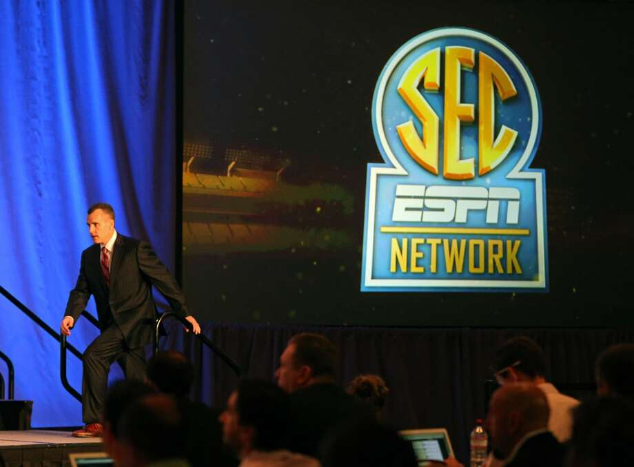 The SEC Network will produce 1,000 live events each year, including 450 televised on the network and 550 distributed digitally. Jason Getz/AP/Atlanta Journal-Constitution
