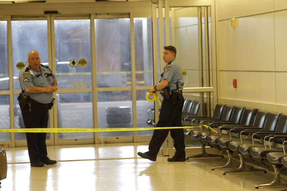 Shots were fired Terminal B at Bush Intercontinental airport in Houston on Thursday, May 2, 2013. Photo: Melissa Phillip