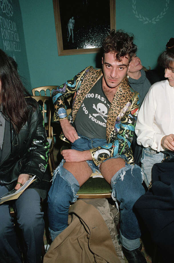 Fashion designer John Galliano during London Fashion Week, March 1992. Photo: Dave Benett, Getty Images / 2008 Getty Images