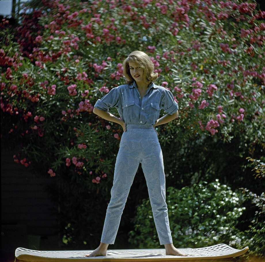 American actress Jane Fonda in California, 1956. Photo: Allan Grant, Time Life Pictures/Getty Images / 2010 Getty Images