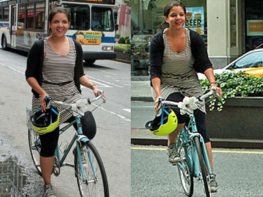Biking to work or working out? You can come into work with this attire if it doesn't look to tacky.Source: Business Insider Photo: Vivian Giang/Business Insider
