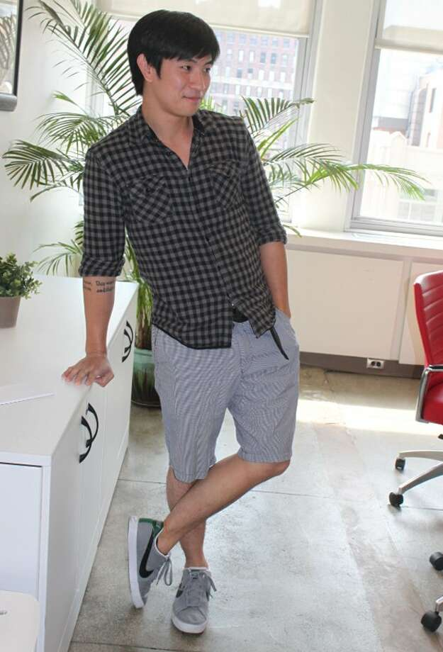 The hot weather can make shorts a must in the summer, but you should avoid them if you can. You should also avoid too tight or too short shorts.Source: Business Insider Photo: Vivian Giang/Business Insider
