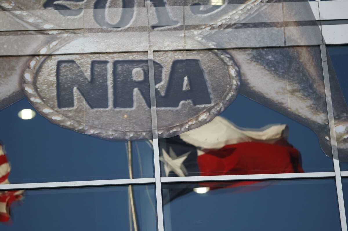 The 2013 NRA convention brought large crowds to Houston's George R. Brown Center, Friday, May 3, 2013.