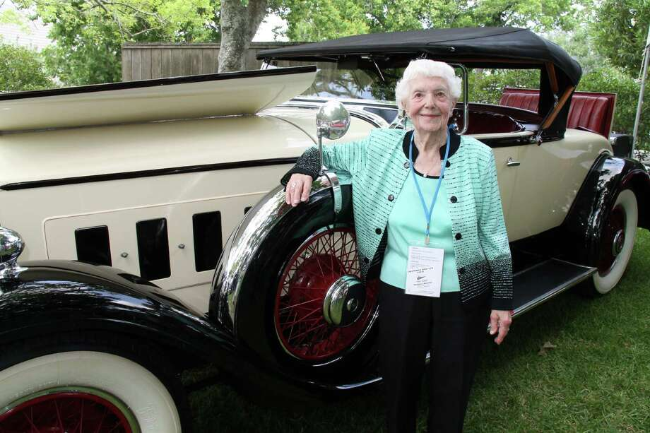 At 103, Michigan resident Margaret Dunning, shown with her Packard 740, still attends several car shows a year. Photo: Courtesy Photo