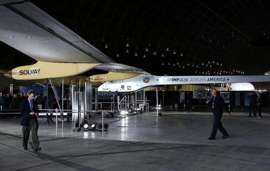 The Solar Impulse has already made international and intercontinental flights in Europe and Africa. Photo: Justin Sullivan, Getty Images / 2013 Getty Images
