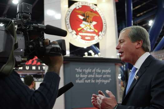 Lt. Gov. David Dewhurst at the NRA convention. Photo: Johnny Hanson/Chronicle