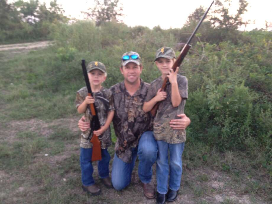 First hunting trip. Submitted by Derek Hollingsworth. Photo: Reader Photo