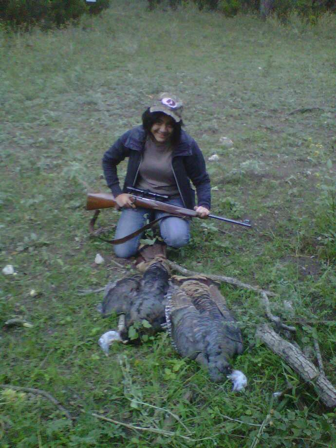Emma on her first turkey hunt. Submitted by Todd D. Rowley. Photo: Reader Photo