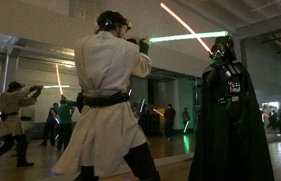 There are actually light saber classes that exist.