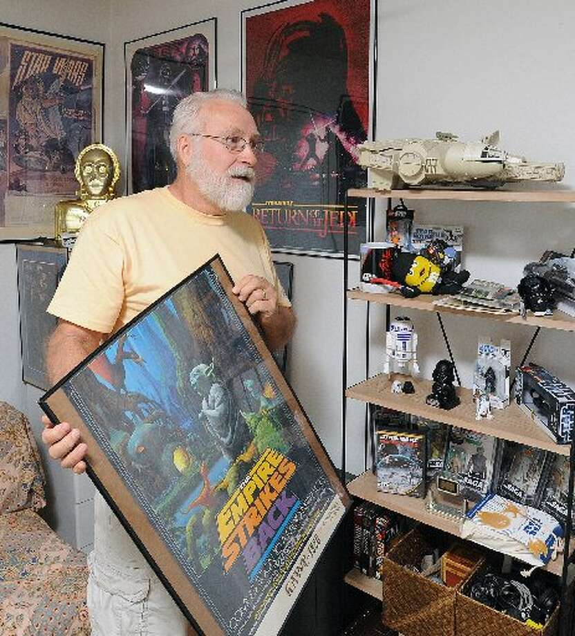 Star Wars merchandise have become huge collector's items through the years.