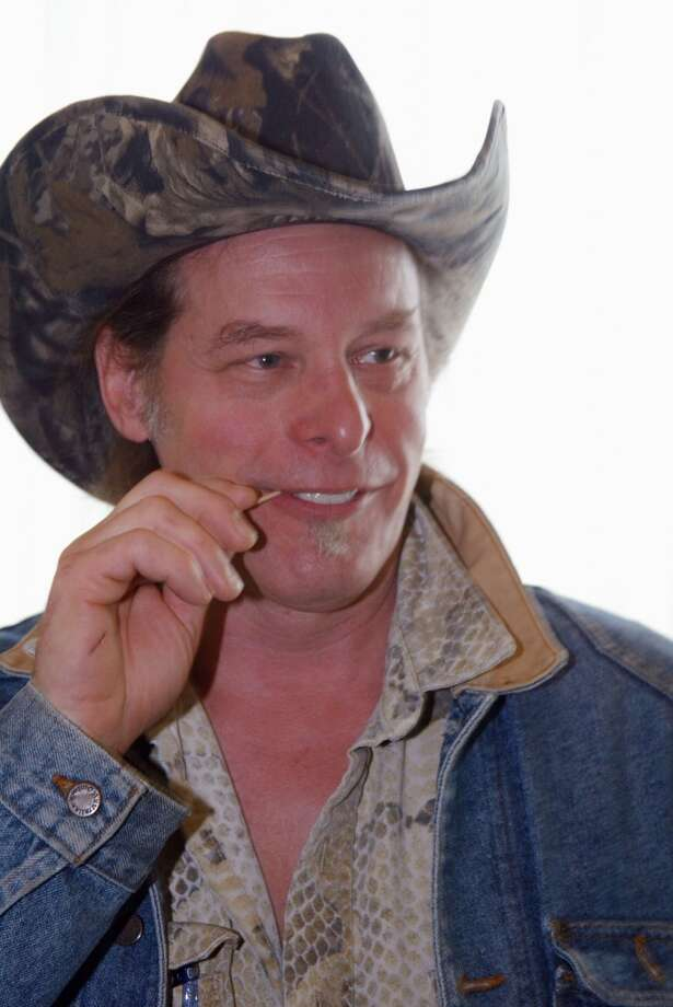 Ted Nugent attends Day Four of the Television Critics Association Press Tour in Los Angeles, California, January 10, 2004.