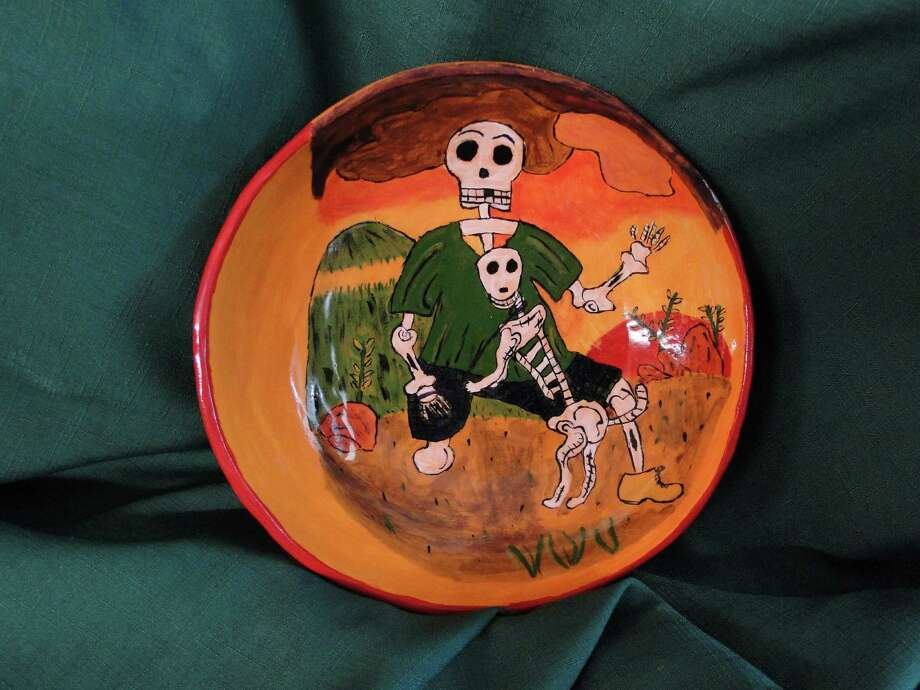 The women's clay cooperative MujerArtes has this annual exhibit and sale event in celebration of Dia de Los Muertos. The women of MujerArtes dedicate their art toward a common cultural expression stemming from their Mexican/Mexican American heritage. Photo: Courtesy Photo