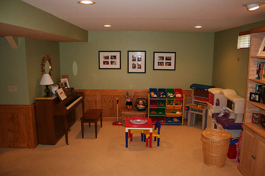 Basement: A basement wasn't as critical to buyers as a fireplace or a garage. The survey found 41 percent of people bought a home with a basement. 