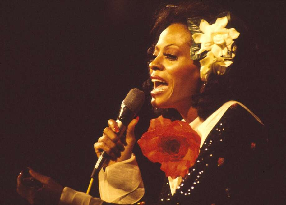 Diana Ross performs in 1973 in London. Chris Walter/WireImage