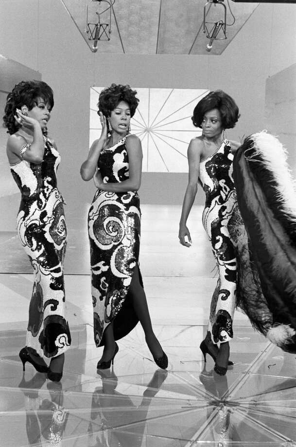 The Supremes (from left Cindy Birdsong, Mary Wilson and Diana Ross perform during a 1968 television program that featured the top Motown acts at the time. Gary Null/NBC/NBCU Photo Bank via Getty Images