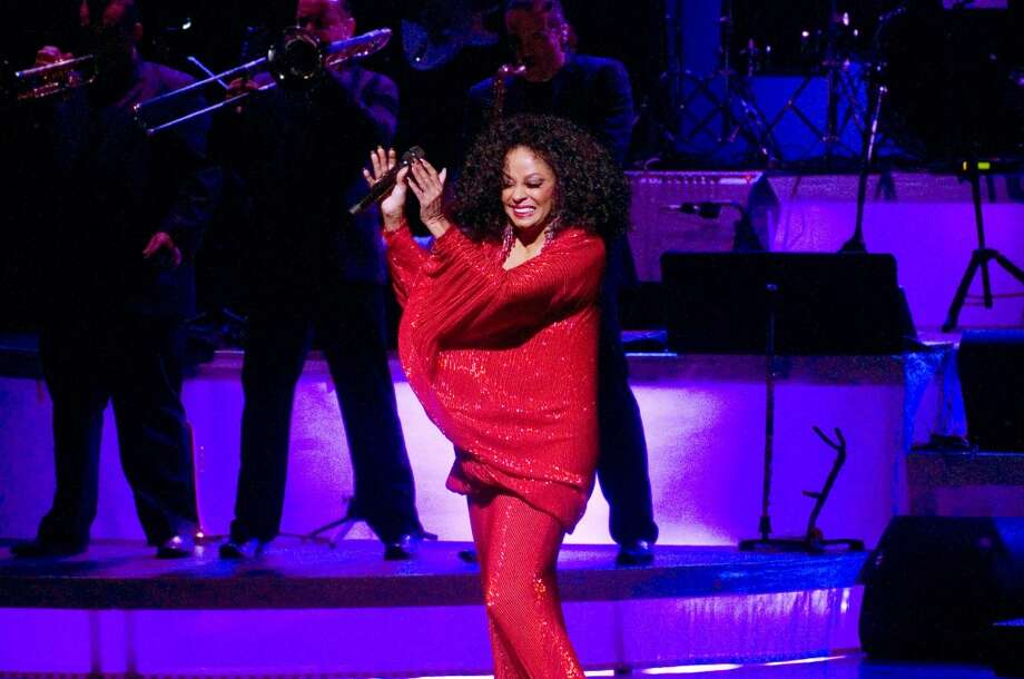 Diana Ross performs in a benefit concert for the Stamford Center for the Arts 2011 Arts Education Program at the Palace Theatre March 18, 2011. Staff file photo
