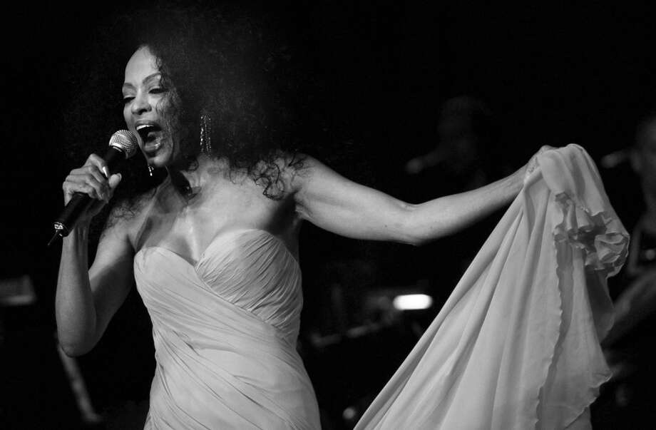 Throughout the years, Arch Street, the Greenwich teen center has attracted celebrity supporters, including the legendary singer Diana Ross, who is seen here performing during her Arch Street Teen Center Benefit Concert at Roger Sherman Baldwin Park in 2004.