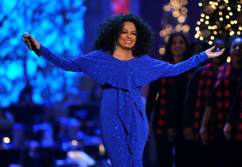 With a costume change, Diana Ross is back onstage during TNT Christmas in Washington at National Building Museum on Dec. 9, 2012. Theo Wargo/WireImage