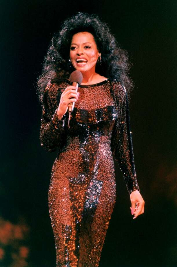 Diana Ross performs on stage at Ahoy, Rotterdam, Netherlands Oct. 17, 1994. Michael Putland/Getty Images)