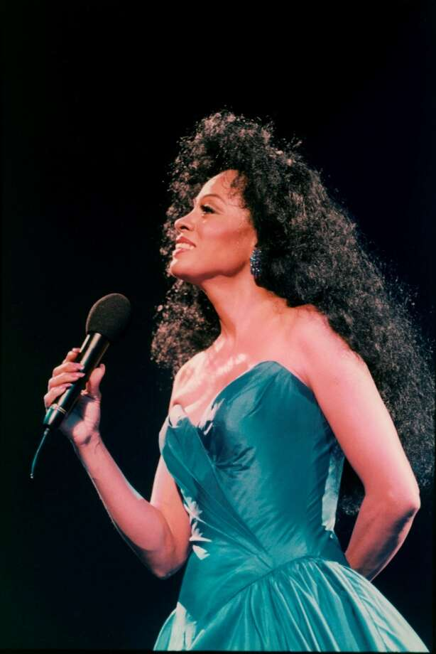 Diana Ross at her concert on Oct. 17, 1994 at Ahoy, Rotterdam, Netherlands. Michael Putland/Getty Images