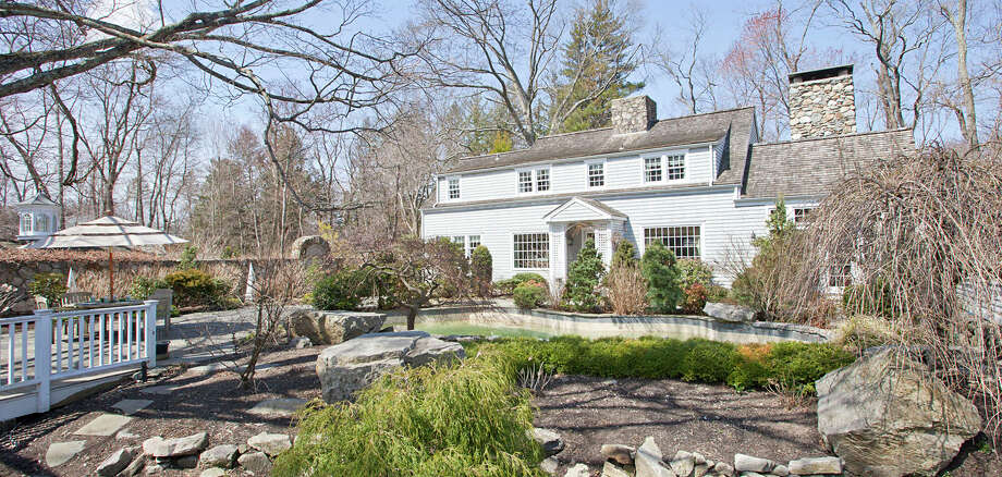 This Cape Colonial property at 95 Partrick Road offers an atmosphere of 'enchantment' with several recreational features such as a heated in-ground Gunite pool and, not seen in this photgraph, a footbridge leading to a gazebo. Photo: Contributed Photo