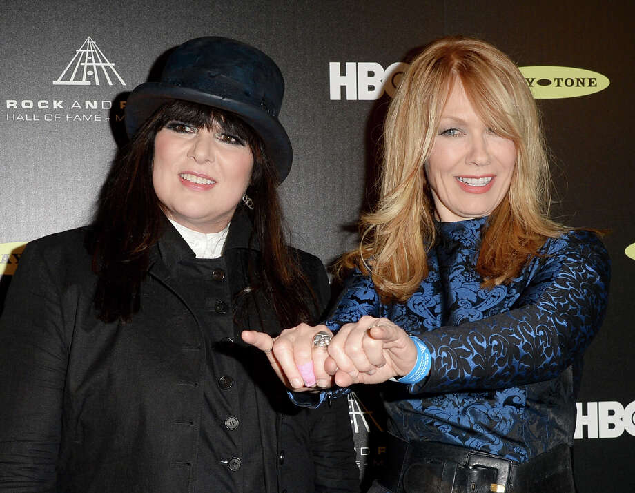 Ann Wilson and Nancy Wilson of Heart, pictured in 2013. Photo: Jason Merritt, Getty Images / 2013 Getty Images