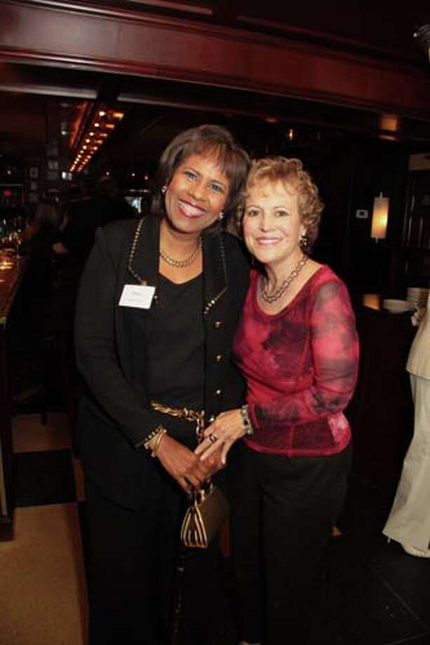 Melanie Lawson and Regina Rogers Photo: Pete Baatz