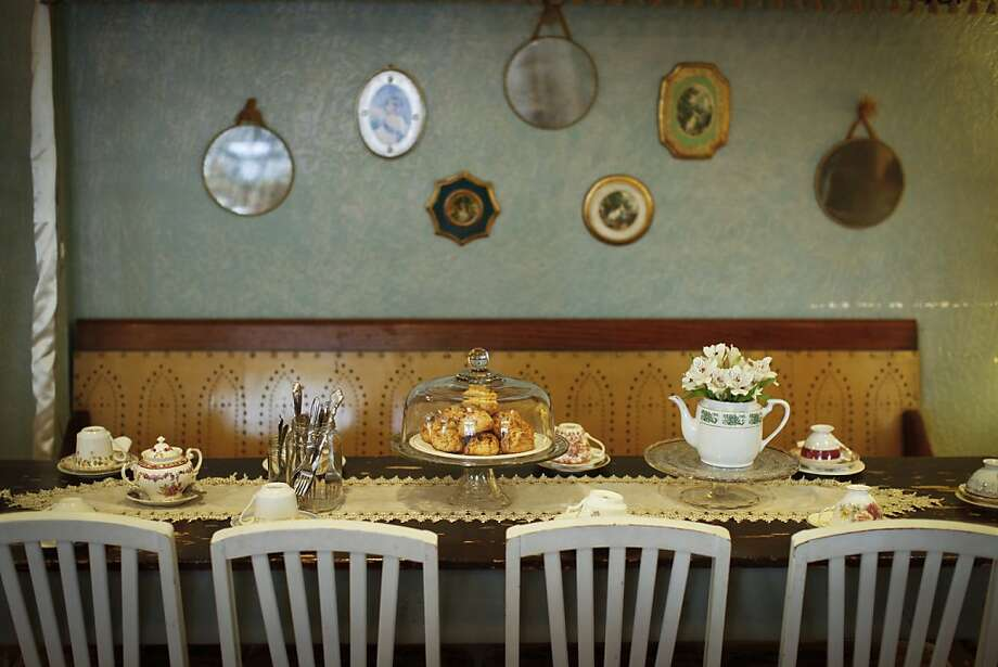 San Francisco's Dartealing Lounge is offering a Hawaiian-themed tea service for Mother's Day, one of several Bay Area spots offering special menus. Photo: Russell Yip, The Chronicle