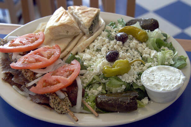 Demos Restaurant wins the Readers Choice Award for Greek/Middle Eastern food. Serving more than the gyros for which they are known, such items as dolmas, spanikopita, baklava and greek salads are favorites here. 05/14/03 ( PHOTO BY J. MICHAEL SHORT / SPECIAL )