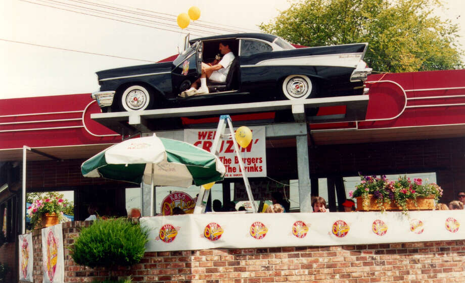 Generations of Ballard High School teens hung out at Zesto's for its burgers, fries and jukebox cool. It opened in 1952 and was known for a while as the place with the '57 Chevy on its roof. It closed in early 2012. Photo: Zesto's
