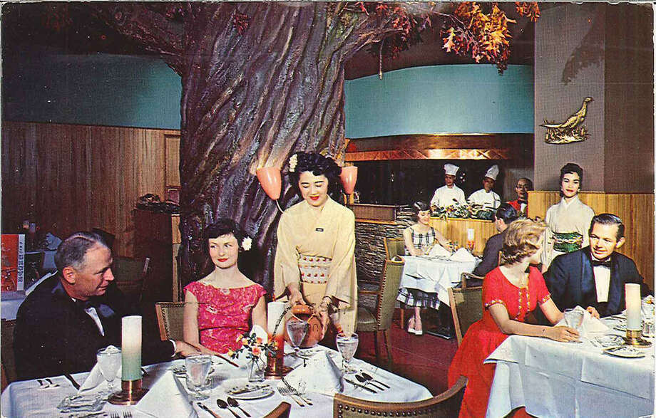 No, we don't miss steakhouses with servers in kimonos. But the New Grove Restaurant, at Sixth and Wall, was part of a wave of exotic, themed restaurants of the '50s. It would later become a drinking hole for Seattle Post-Intelligencer journalists, when the newsroom was nearby. Photo: Seattle Municipal Archives