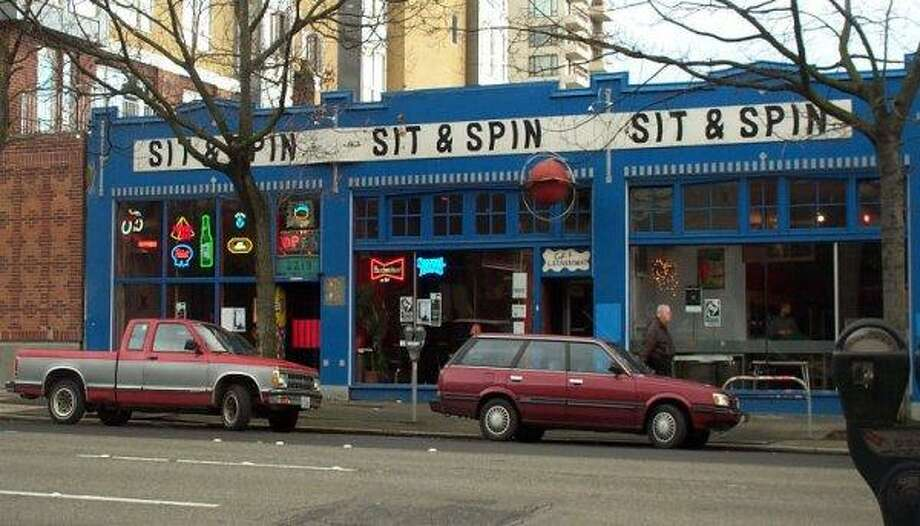 Sit & Spin was a fine place to see shows, drink beer, do some laundry, play games. And yes, eat. Photo: King County Department Of Assessments