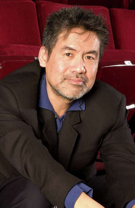 "Tony-Award winning playwright David Henry Hwang is shown at The Public Theater in New York on November 29, 2007. His new play, ""Yellowface,"" is Hwang's first in 10 years and is in many ways his most personal, most autobiographical and most confessional piece to date. (AP Photo/ Jim Cooper) Photo: Jim Cooper, STR"